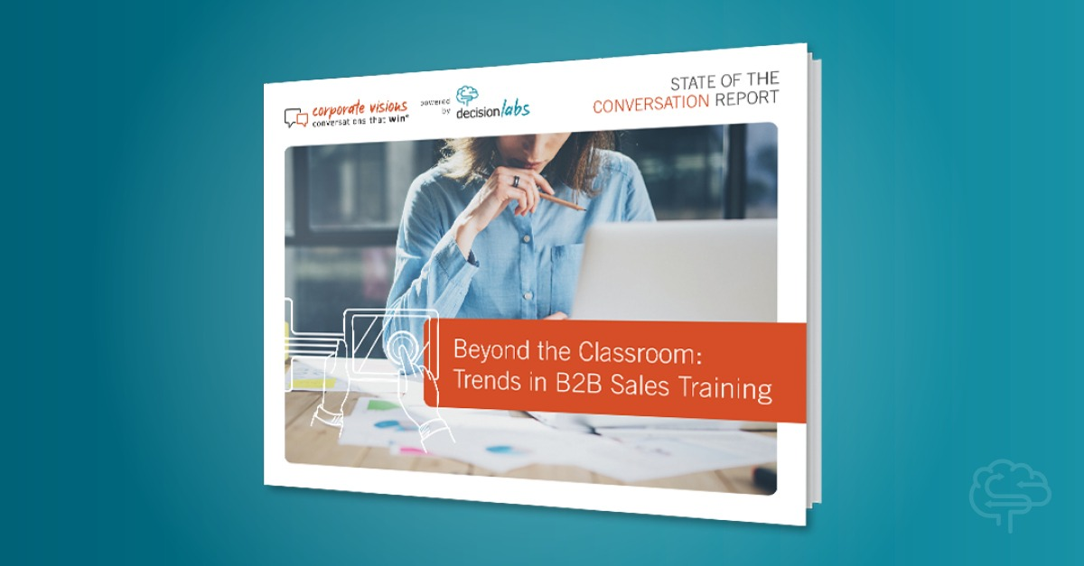 Report: B2B Sales Training Trends Beyond The Classroom