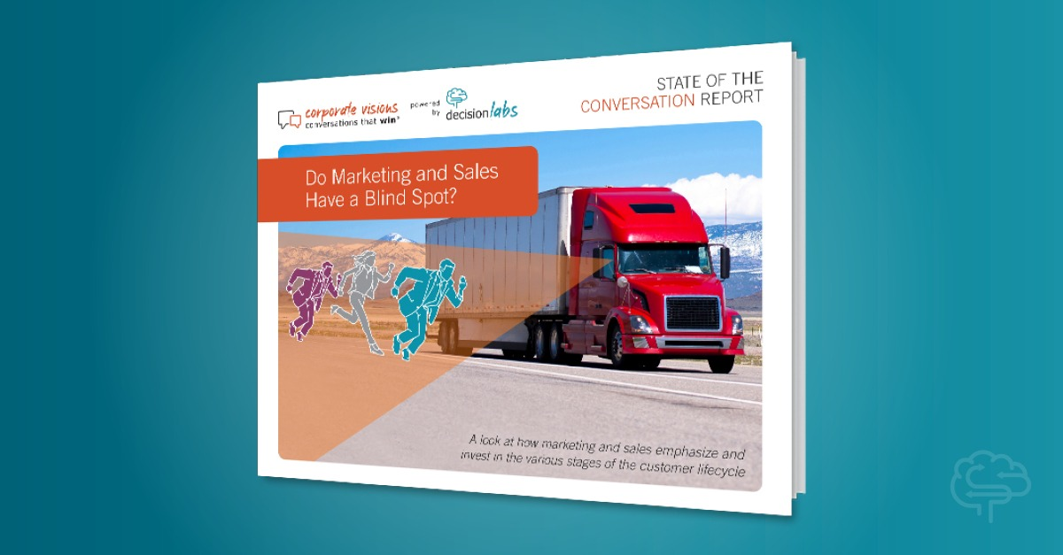 Report: Do Marketing and Sales Have a Blind Spot