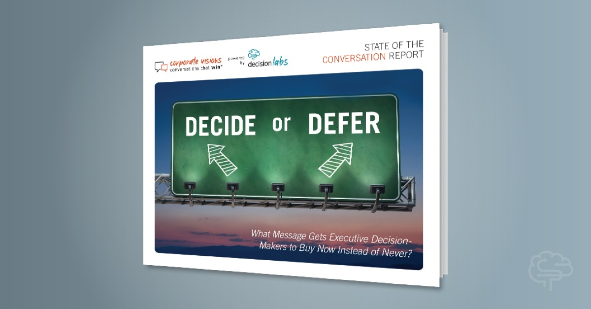 Report: Decide or Defer?
