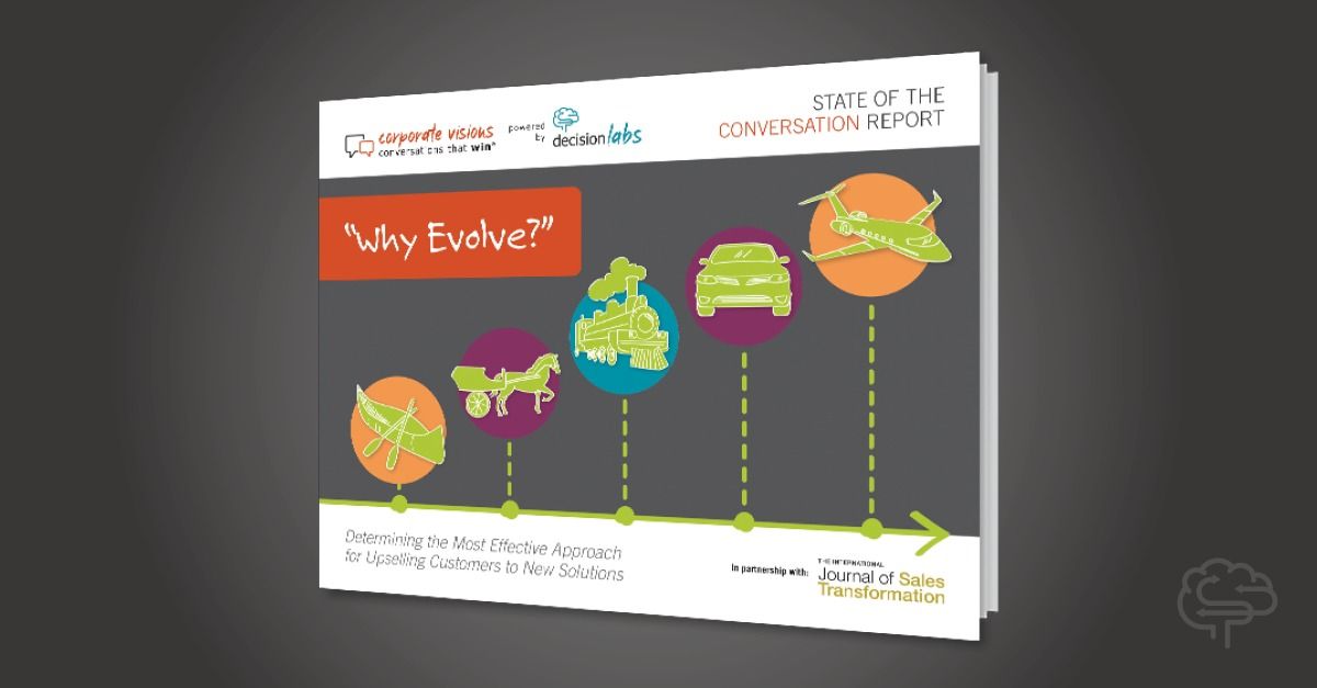 """Report: """"Why Evolve?"""" – Determining the Most Effective Upsell Message"""