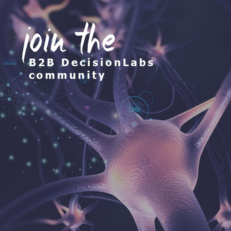 Join the B2B DecisionLabs Community