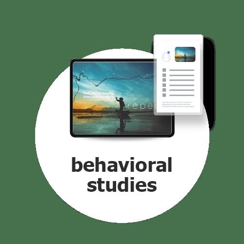 Explore Icon Behavioral Studies